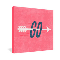 Nick Nelson Go Gallery Wrapped Canvas