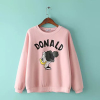Donald Duck Print Sweater