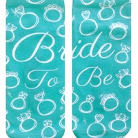 Bride To Be Ankle Socks