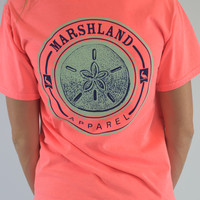Marshland Apparel T-Shirt {Sand dollar}