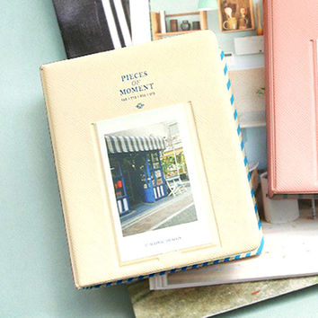 Fujifilm Instax Mini Film Album Polaroid Instant Photo Album Ivory