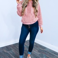 Teddy Bear Sweater: Blush
