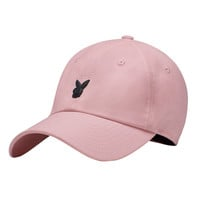 Heavyweight Pink Rabbit Head Dad Hat