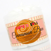 CINNAMON BUN Body Butter Soufflé 4oz - Clearance