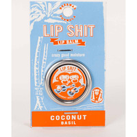 Coconut Basil Lip Shit Lip Balm