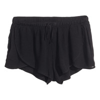 H&M - Short Shorts - Black - Ladies