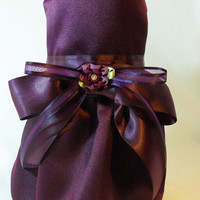 Custom Bridesmaid Dress for Dogs or Cats. Match your Wedding colors.