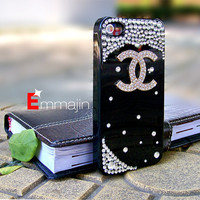 Black  iphone 4 cases,bling iphone 4s case ,crystal  iphone 4 cases,diamond Iphone 4 case