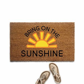 Bring on the Sunshine Doormat