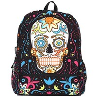 """""""Day of the Dead"""" Bag by Mojo Backpacks"""