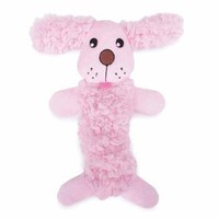 Grriggles Baby Bark Bungee Puppy Toy - Baby Pink