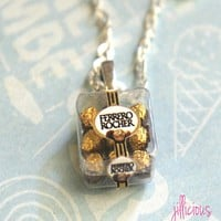 ferrero rocher necklace