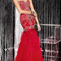 Strapless Sweetheart Mermaid Gown