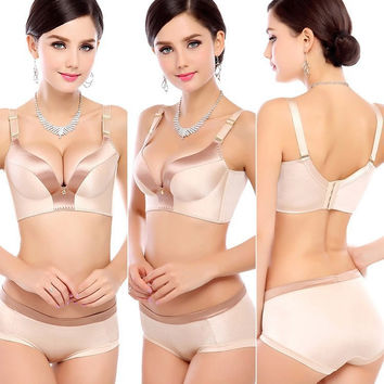 Women bra set underwear lingerie set A B C cup seamless bra