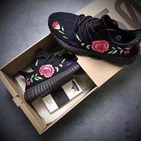 Adidas Yeezy 350V2 Boost Kanye coconut net men's shoes sports shoes