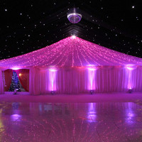 Pink 32 feet (10M) 100 LED String Fairy Lights Wedding Garden Home Party Christmas Light Decoration with 8 function controller