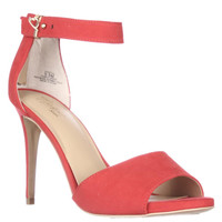 TS35 Jose Ankle Strap Sandals, Hibiscus, 9.5 US