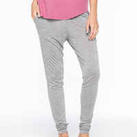 Rvca Anydaze Womens Lounge Pants Gray  In Sizes
