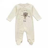 Long Sleeve Rompers And Jumpsuit For Newborn Babies