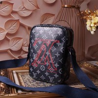 LV Louis Vuitton MONOGRAM CANVAS DANUBE CROSS BODY BAG