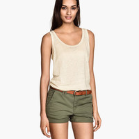 Chino Shorts - from H&M