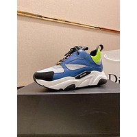 DIOR Men Fashion Boots fashionable Casual leather Breathable Sneakers Running Shoes-18