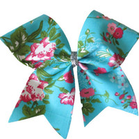Cheer Bow- Lily pulitzer inspired