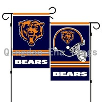 13''X 18'' Chicago Bears Two Sides Printing Garden Flag