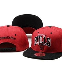 Chicago Bulls Nba Cap Snapback Hat - -5
