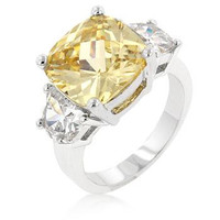 Jonquil Triplet Ring, size : 10