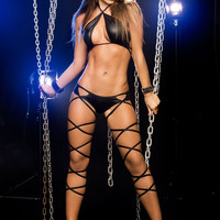 Stripper Short Set | sassyassyclubwear.com