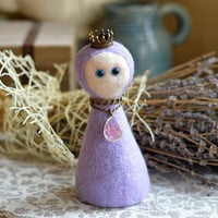 Tenderness // Homemaker // A talisman for the soul and the home // amulet is made in the technique of dry felting // bewitching magic images