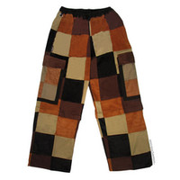 Patchwork Zip-Off Cargo Pants on Sale for $49.99 at HippieShop.com
