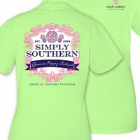 "Simply Southern ""Royalty"" Tee - Lime Green"