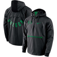 Men's Nike Black Oregon Ducks Packable Woven Jacket