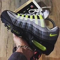 Nike Air Max 95 trendy trendy casual sports shoes F Black