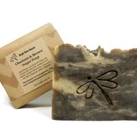 Chestnut Brown Sugar Soap, Handmade Soap, Vegan Soap, Gift under 10
