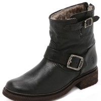 Valerie Shearling Lined Booties