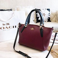 Coach New Fashion High Quality Leather Handbag Shoulder Bag