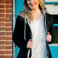 Easy To Love Jacket- Black