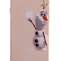 Olaf Transparent Back Cover Case for iPhone 6