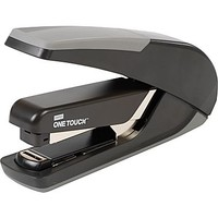 Staples One-Touch™ Plus Desktop Flat Stack Full Strip Stapler, 30-Sheet Capacity, Black | Staples