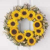 Sunflower Wreath - VivaTerra