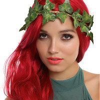 DC Comics Poison Ivy Leaf Crown Headband