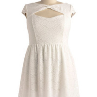 You're My Everything Dress in White - Plus Size | Mod Retro Vintage Dresses | ModCloth.com