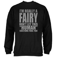 Halloween Human Fairy Costume Mens Sweatshirt