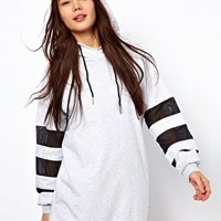 Adidas Hoodie With Mesh Inserts at asos.com