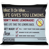 Portal 2 inspired Couch Pillow