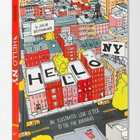Hello, New York: An Illustrated Love Letter To The Five Boroughs By Julia Rothman - Assorted One