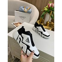 prada fashion men womens casual running sport shoes sneakers slipper sandals high heels shoes 173